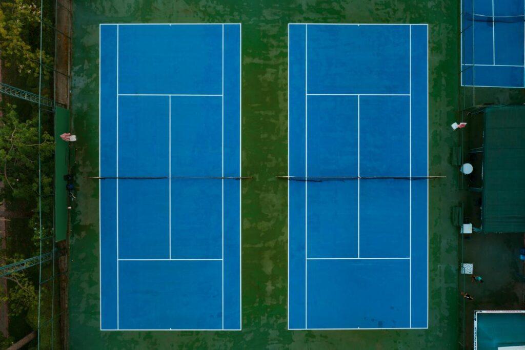 Campi da tennis sintetico